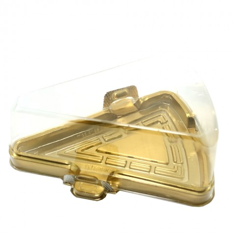 Dilim Pasta Kabı (Özge Plastik) - 50'li