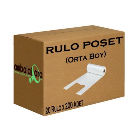 Rulo Poşet (Orta) - 4000'li