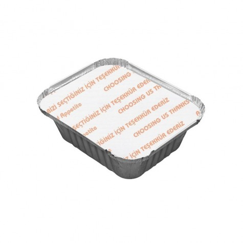 Alüminyum Kapak 250-350 gr. - 100'lü