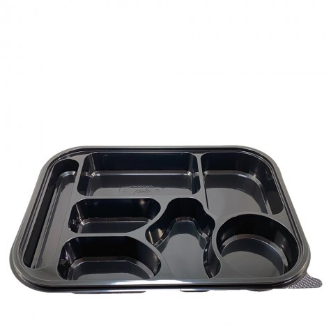 Kahvaltı Servis Seti 7 Bölmeli (Kapaklı) - 50'li