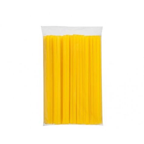 Sarı Frozen Plastik Pipet - 5000'li