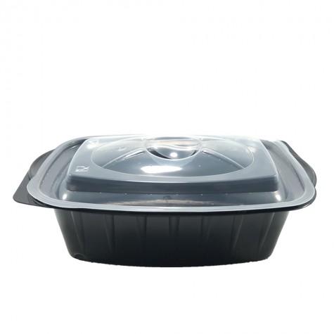 ÖSYK 750 gr Isıya Dayanıklı Kapaklı Gıda Kabı - 50'li