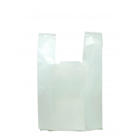 Beyaz Hışır Poşet (Orta Boy) - 1 kg