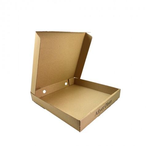 Pizza Kutusu (22x22x4,2 cm) - 100'lü