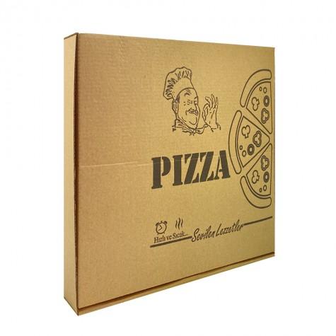 Pizza Kutusu (32x32x4 cm) - 100'lü